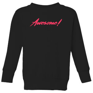 Awesome! Kids' Sweatshirt - Black