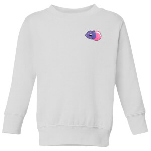 Small Bubblegum Kids' Sweatshirt - White