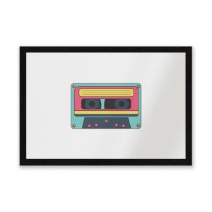 Cassette Tape Entrance Mat