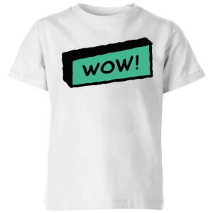 Wow! Kids' T-Shirt - White
