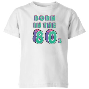 Born In The 80s Kids' T-Shirt - White