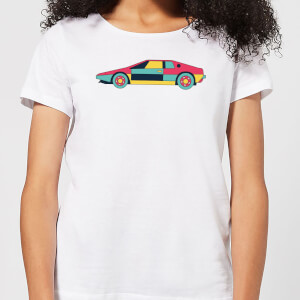 Classic Sports Car Women's T-Shirt - White