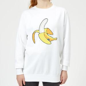 Banana Women's Sweatshirt - White