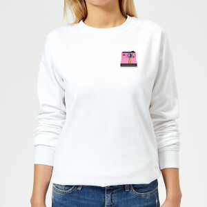 Small Polaroid Women's Sweatshirt - White