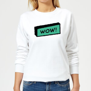 Wow! Women's Sweatshirt - White