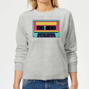 Cassette Tape Women's Sweatshirt - Grey