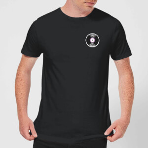 Small Vinyl Record Men's T-Shirt - Black