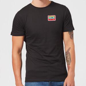 Small Cassette Tape Men's T-Shirt - Black