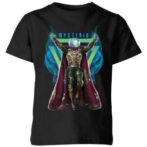 Spider-Man Far From Home Mysterio Magic Kids' T-Shirt - Black