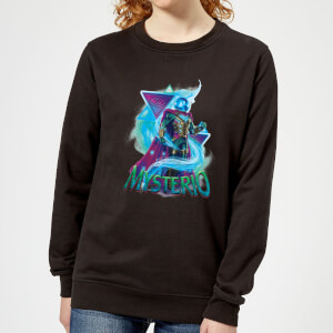 Spider-Man Far From Home Mysterio Energy Triangles Women's Sweatshirt - Black