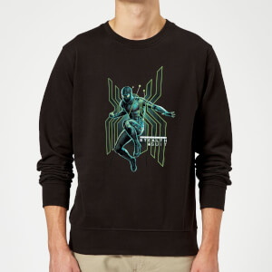 Spider-Man Far From Home Stealth Jump Sweatshirt - Black