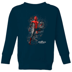Spider-Man Far From Home Upgraded Suit Kids' Sweatshirt - Navy