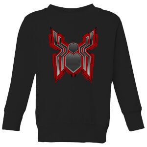 Spider-Man Far From Home Tech Icon Kids' Sweatshirt - Black