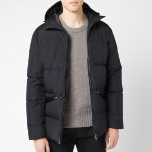 Herno Men's Laminar Half Coat - Black
