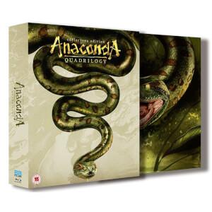 Anaconda Quadrilogy 1-4 Boxset