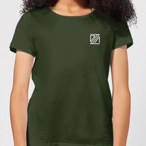 Dazza Pocket Women's T-Shirt - Forest Green