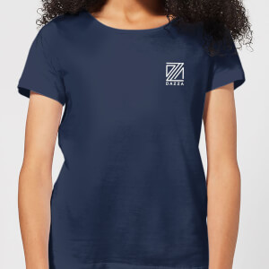 Dazza Pocket Text Women's T-Shirt - Navy