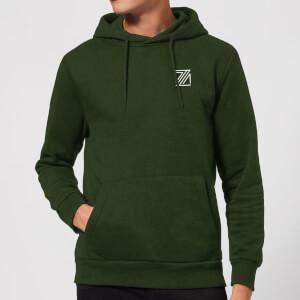 Dazza Pocket Hoodie - Forest Green