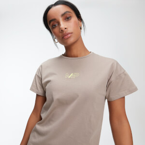 Power Oversized T-Shirt - Praline