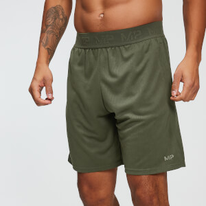 Heren Dry Tech Shorts - Legergroen