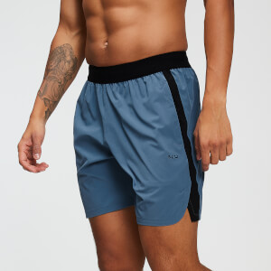 MP Training Men's Shorts - Washed Blue