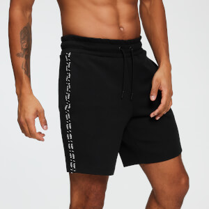 Double Tape Tricot Shorts - Schwarz
