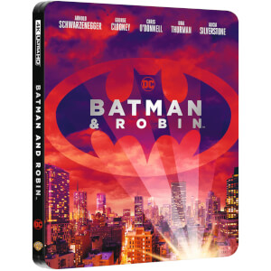 Exclusivité Zavvi - Steelbook Batman & Robin - 4K Ultra HD (Blu-ray 2D Inclus)