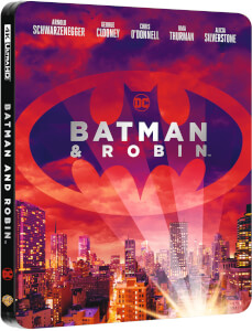 Batman y Robin 4K UHD (incluye Blu-ray 2D) - Steelbook Edición Limitada Exclusivo Zavvi