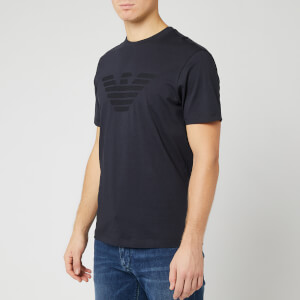 Emporio Armani Men's Sewn Eagle T-Shirt - Graphite