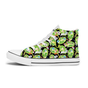 Zapatillas Rick y Morty Portal - Blanco