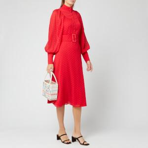 ROTATE Birger Christensen Women's Number 37 Dress - High Risk Red