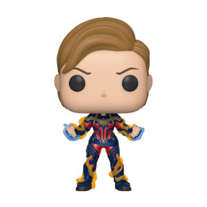 Marvel Avengers: Endgame Captain Marvel Figura Pop! Vinyl