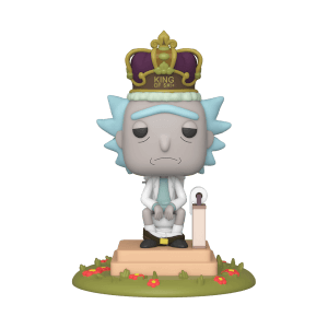 Rick and Morty - Re di $#!+ con Suoni Figura Funko Pop! Deluxe