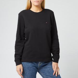 Tommy Hilfiger Women's Heritage Crew Neck Sweatshirt - Masters Black
