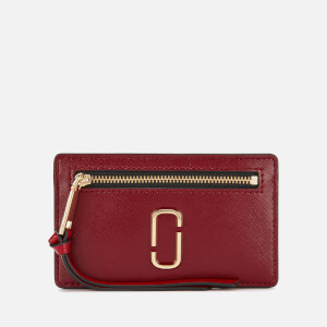 Marc Jacobs Women's Cardholder - Cranberry/Multi