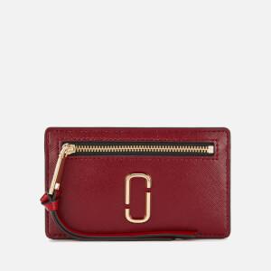 Marc Jacobs Women's Cardholder - Cranberry/Multi