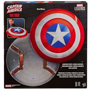 Réplique du bouclier de Captain America, échelle 1:1, Marvel Legends 80e anniversaire– Hasbro