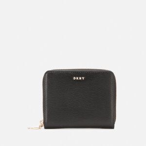 DKNY Women's Bryant Small Zip Around Purse - Black