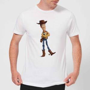 Toy Story 4 Woody Men's T-Shirt - White