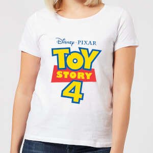 Toy Story 4 Logo Women's T-Shirt - White