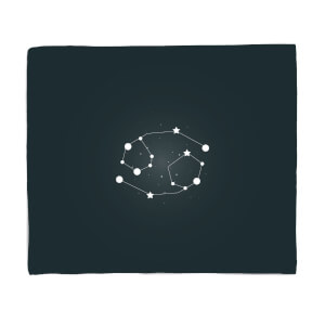 Cancer Star Sign Fleece Blanket