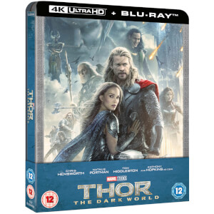 Thor: The Dark World – 4K Ultra HD Zavvi UK Exclusive Steelbook (Includes 2D Blu-Ray)