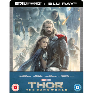 Thor: The Dark Kingdom 4K Ultra HD - Zavvi Exklusives Steelbook