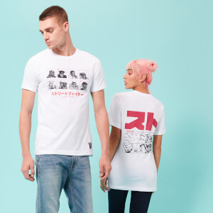 Street Fighter Arcade Vs. Unisex T-Shirt - White