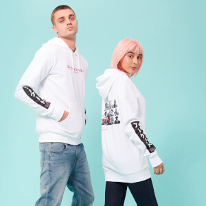 Street Fighter Arcade Line Up Unisex Hoodie - White