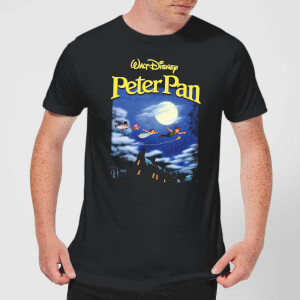 Disney Peter Pan Cover Men's T-Shirt - Black