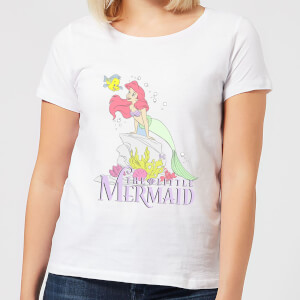 Disney Little Mermaid Women's T-Shirt - White