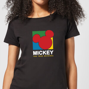 Disney Mickey The True Original Women's T-Shirt - Black