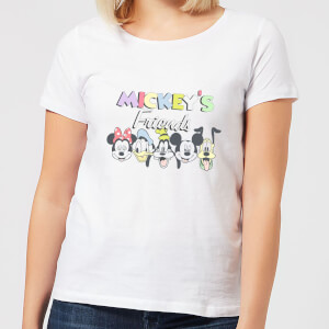 Disney Mickey's Friends Women's T-Shirt - White