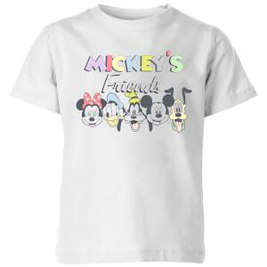 Disney Mickey's Friends Kids' T-Shirt - White